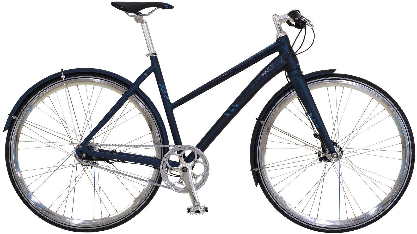 Kildemoes Logic Adventure, Damecitybike, 2019, Glitter Blue matt | City