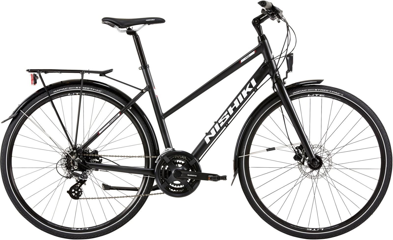 Nishiki City 401, Dame citybike, 2019, Sort | City-cykler