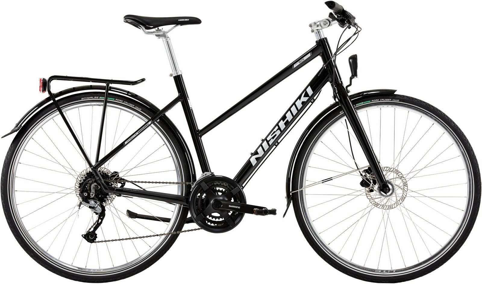 Nishiki City 501, Dame citybike, 2019, Sort | City-cykler