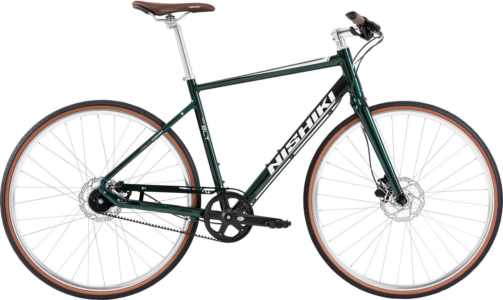 Nishiki Pro Blt, Herre sportscykel, 2019, Grøn | City-cykler