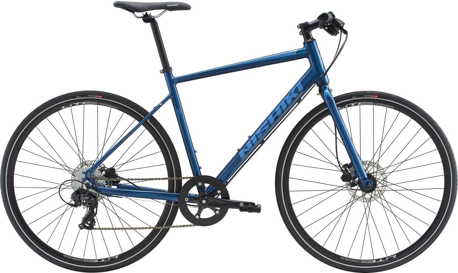 Nishiki SL, Herre sportscykel, 2019, Blå | City-cykler