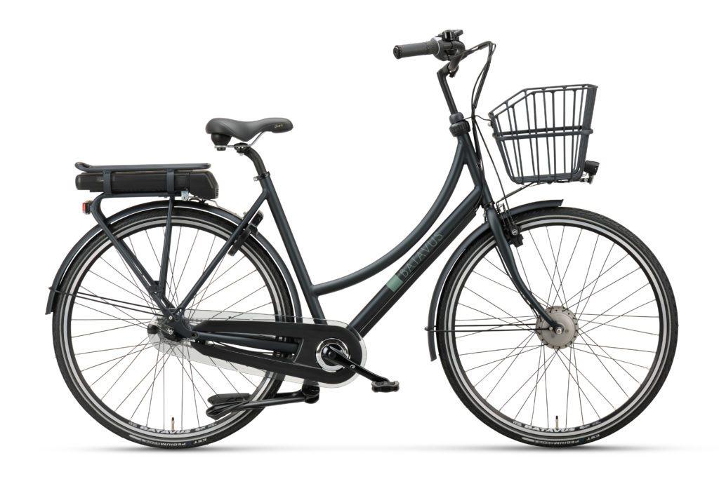 Batavus Bronx E-go, Elcykel, 2018, Mat sortgrøn | City-cykler